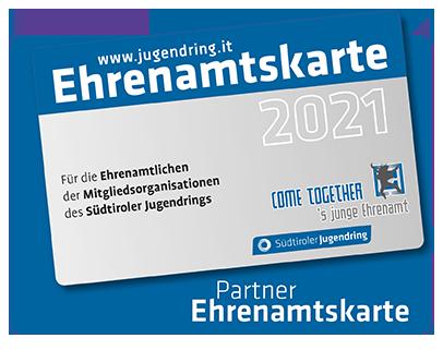 Ehrenamtskarte - Südtiroler Jugendring